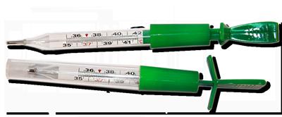 Термометр безртутный для легкого встряхивания