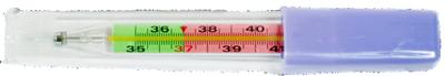 Термометр с цветной шкалой